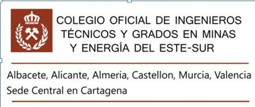 Logo Colegio Oficial de Ingenieros Técnicos y Grados en Minas y Energía del ESTE-SUR