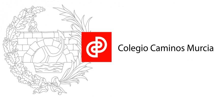 Logo Colegio de Ingenieros de Caminos, Canales y Puertos, demarcación de Murcia