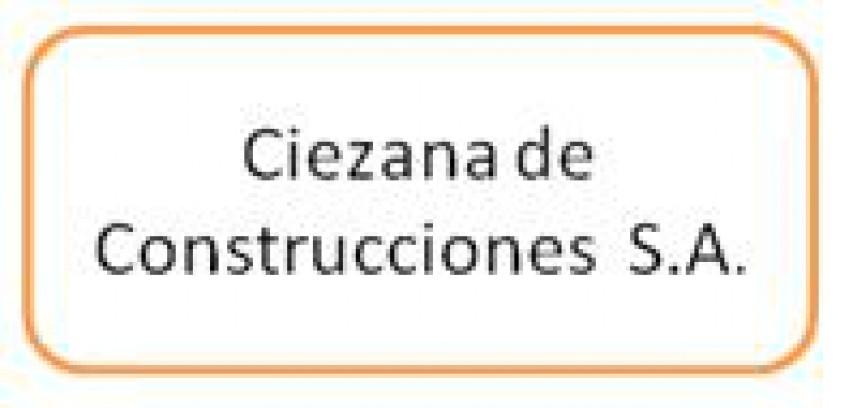 Logo Ciezana de Construcciones S.A.